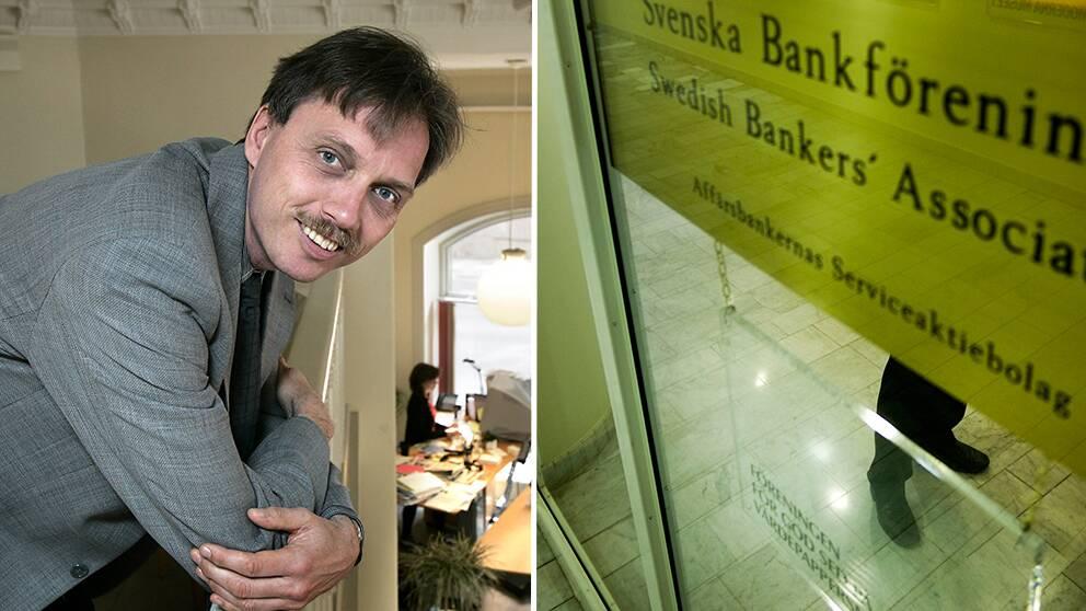 Jan Bertoft, generalsekreterare på Sveriges Konsumenter att bankernas rådgivare snarare agerar som säljare. Han anser att mer behöver göras för att minska konsumenternas underläge vid rådgivning.