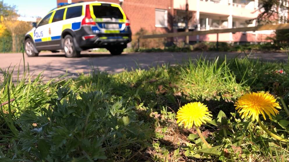Efter dödsskjutningen av två män i bostadsområdet Fredriksdal i Helsingborg placerade polisen två patruller i området i trygghetsskapande syfte.