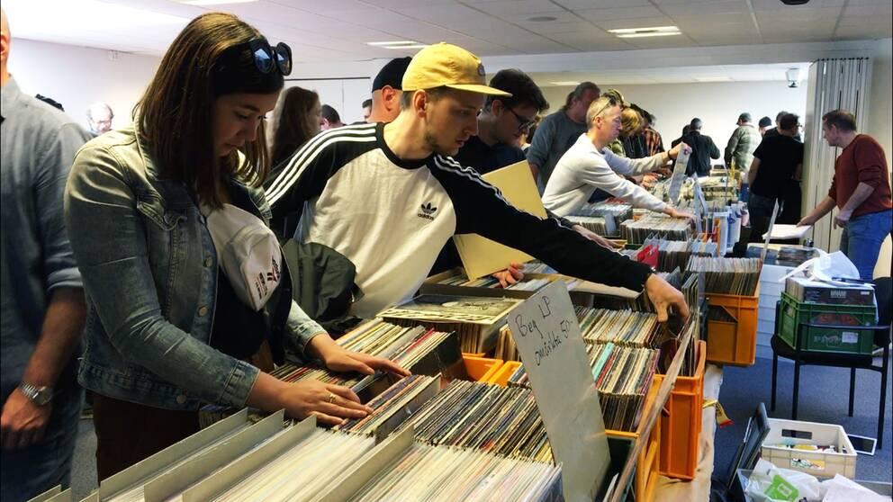 skivmässa, lp-skivor, vinyl