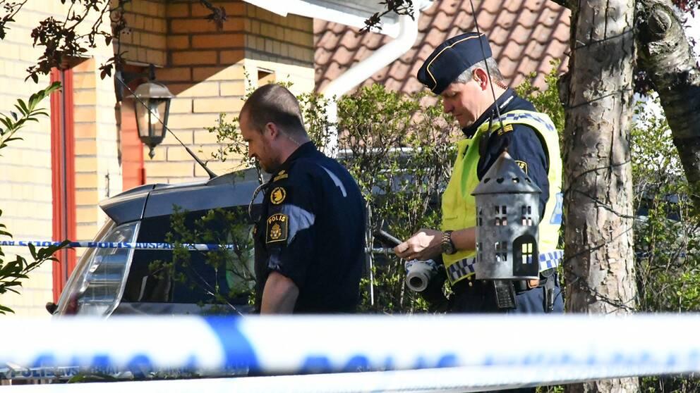 Två män har gripits i Danmark efter det grova rånet i Lund.