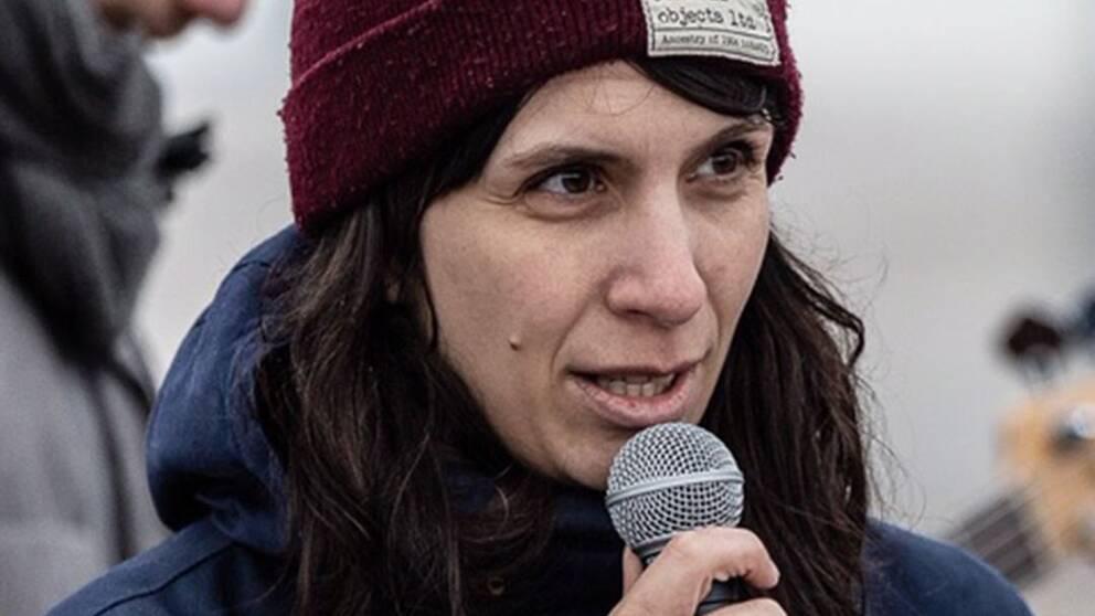 Emelie Ribeiro är en av de nya medlemmarna i den svenska delen av Extinction Rebellion.