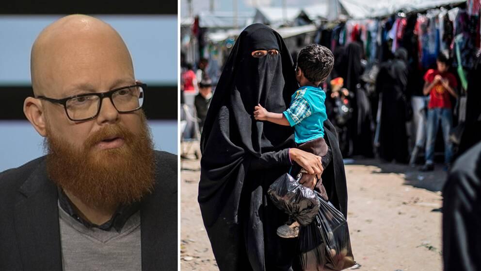 Ola Mattsson, Sverigechef på Rädda Barnen, tror att de svenska barn med föräldrar som varit med i IS är ett steg närmare att komma hem till Sverige.