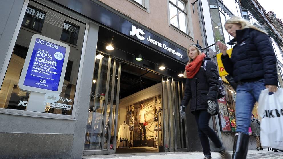 Klädföretaget JC går i konkurs, enligt uppgifter.
