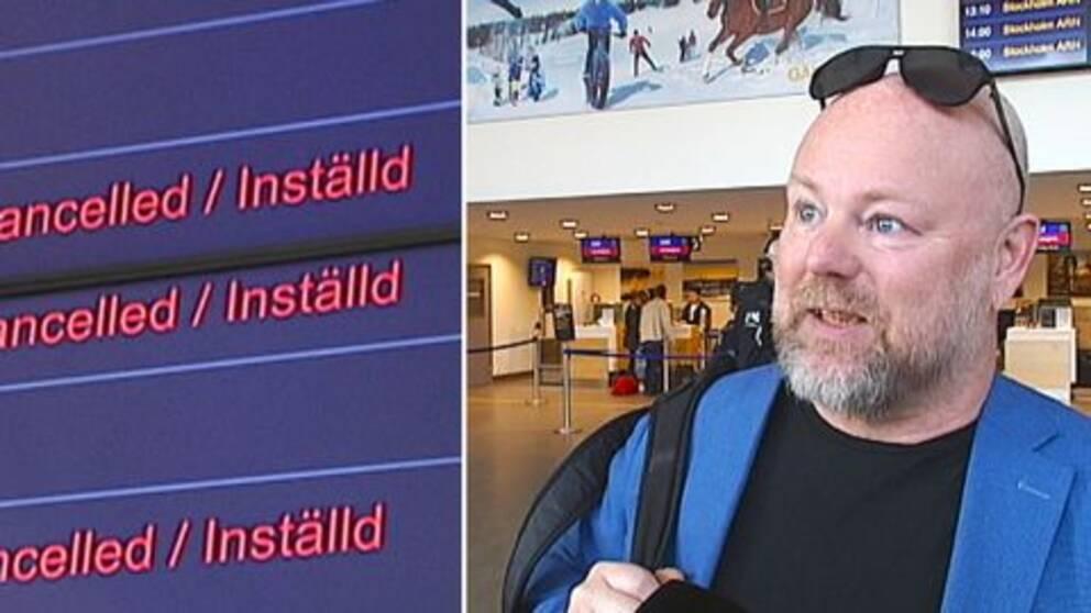 Luleåbon Johan Håkansson lyckades boka en ny biljett