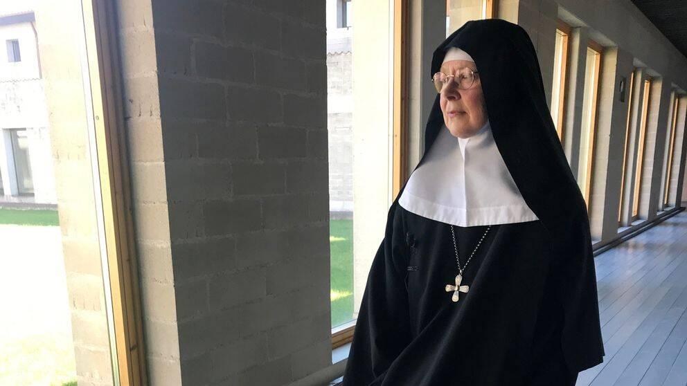 Abbedissa Moder Christa på Mariavalls kloster.