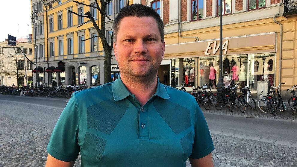 Per-Åke Sörman kommunalråd och centerpartist