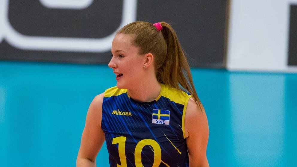 Isabelle Haak missar landslagslägret i Falköping.