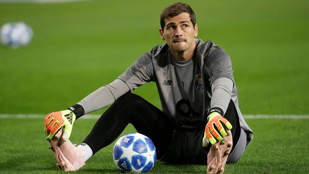 Portos målvakt Iker Casillas.