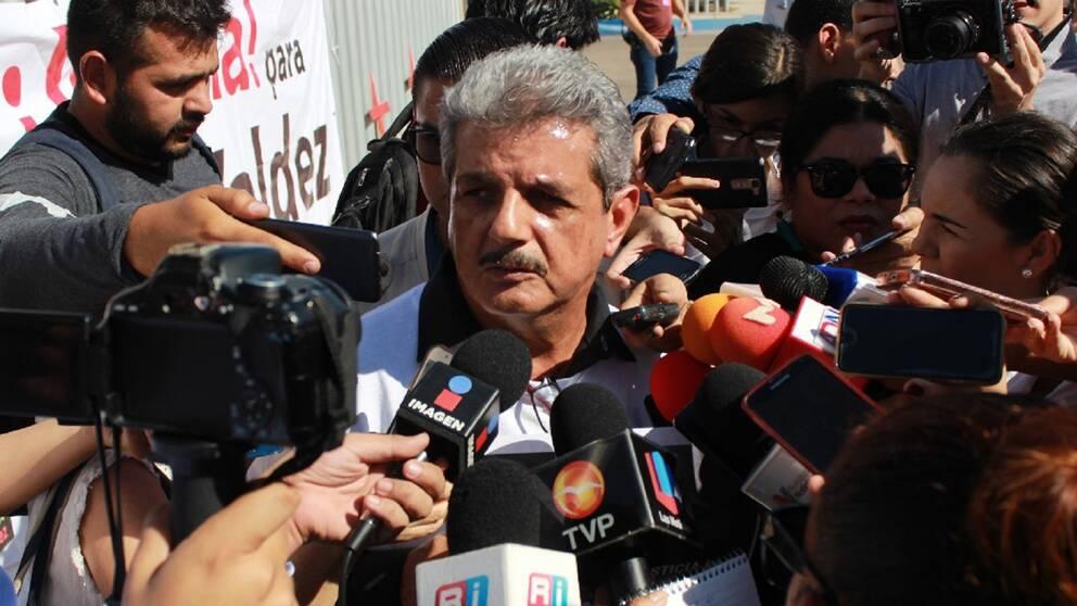 Ismael Bojórquez Perea är chefredaktör för den mexikanska lokaltidningen Río Doce.