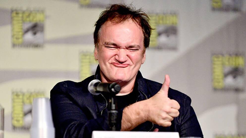 Quentin Tarantino vid årets Comic-con