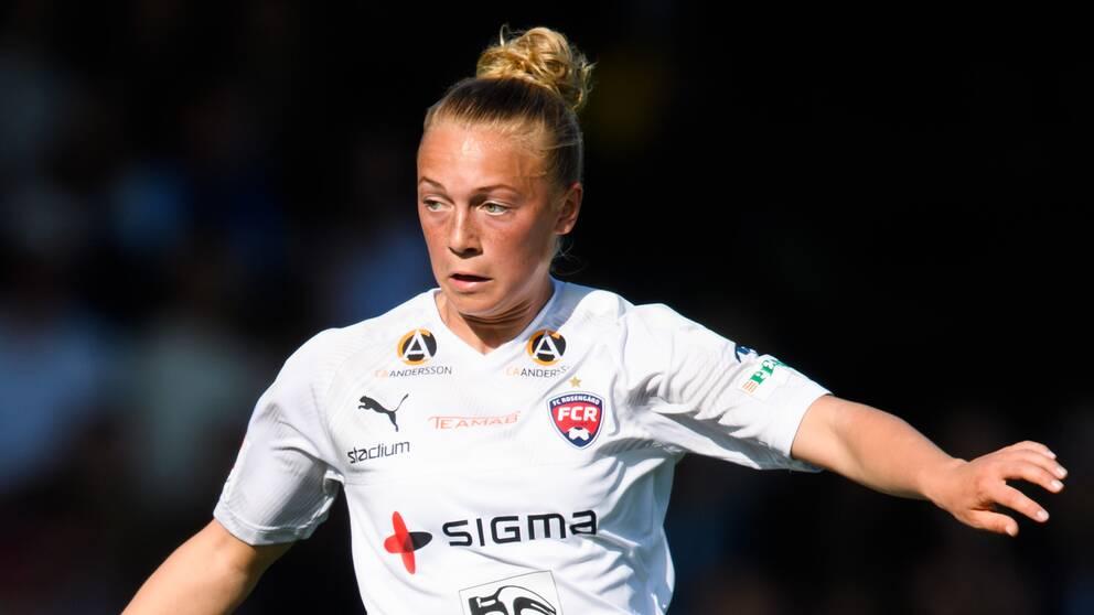 Hanna Bennison gjorde sitt första allsvenska mål.