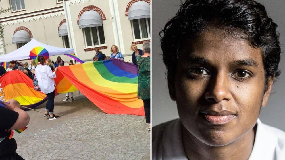 Loui Sand inviger årets Växjö Pride