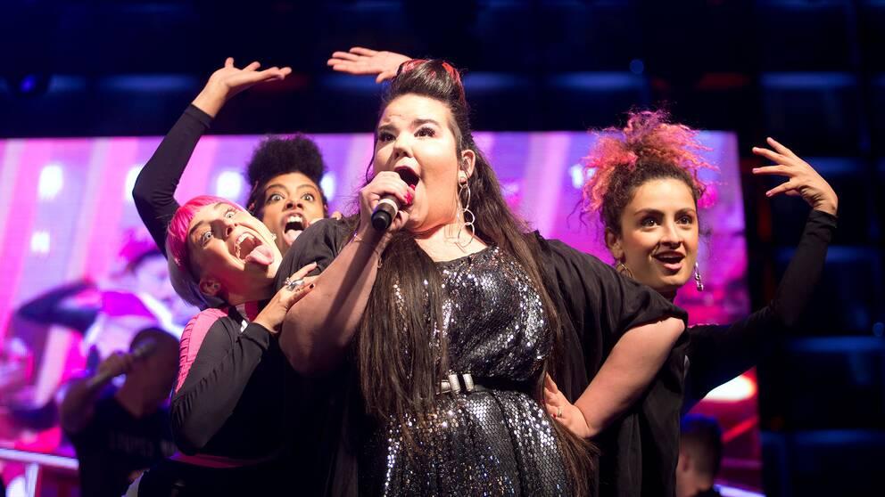 Artisten Netta Barzilai vann Eurovision song contest 2018 och säkrade därmed årets ESC-tävling för Israels räkning.