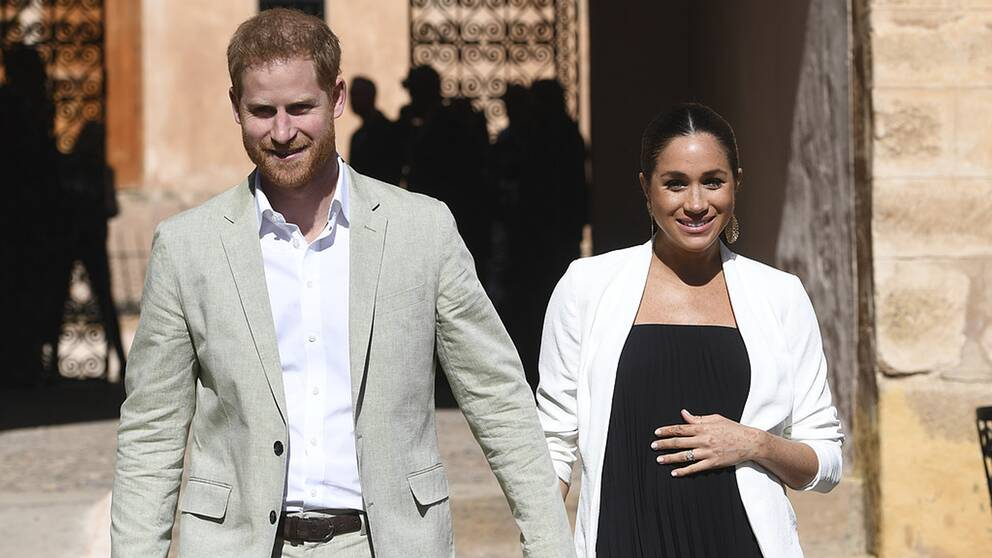 Prins Harry och Meghan Markle, hertiginnan av Sussex.