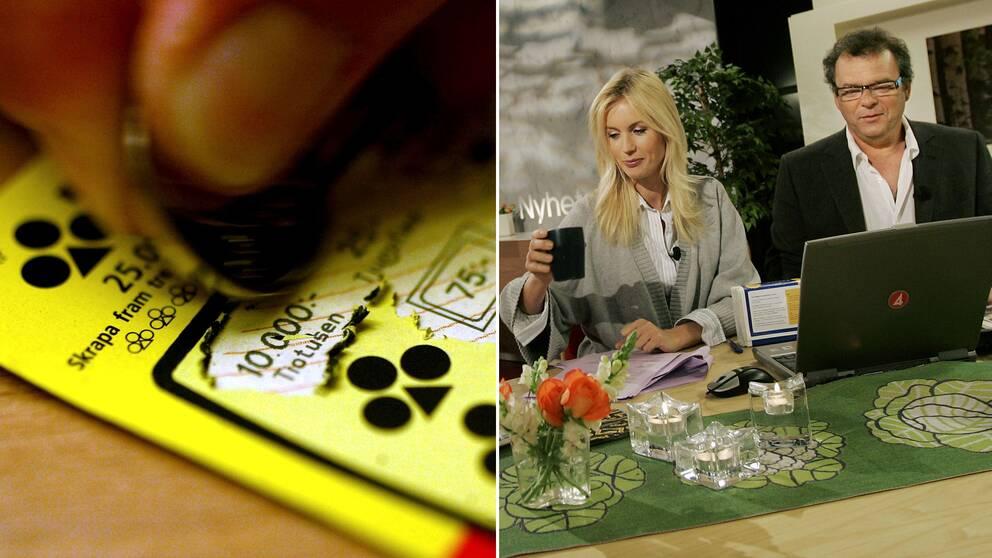 Nyhetsmorgon i TV4 får nu kritik från spelbranschen för att de inte märker upp sina skraplottsinslag som spelreklam.