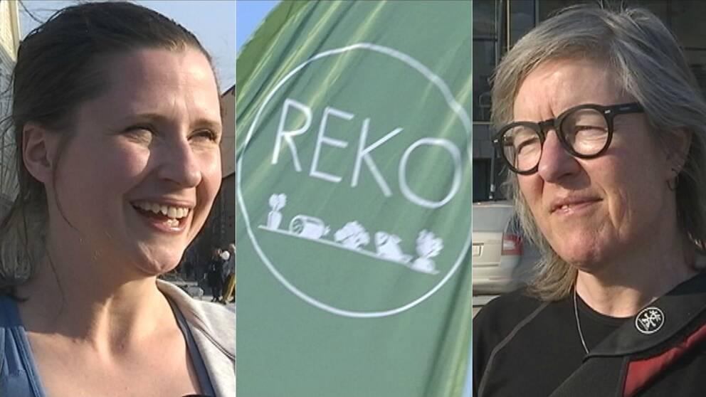 Bild på Sofia Ågren och Lena Olofsson