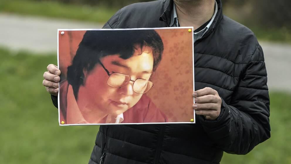 Svenska PEN riktar kritik mot svenska regeringens tysta diplomati i fallet Gui Minhai.