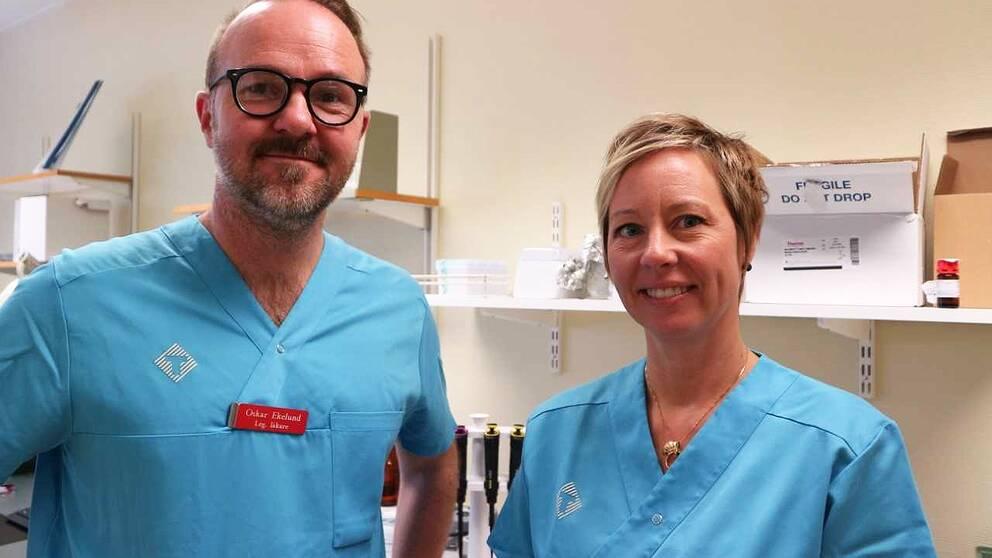 två läkare