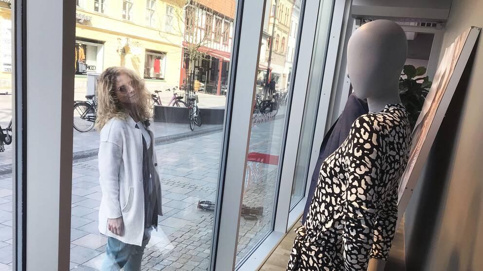 Projektledaren Johanna Jansson tycker inte att dagens skyltdockor representerar hur människor faktiskt ser ut.