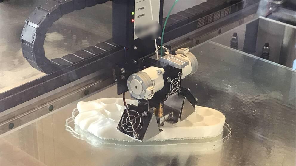 3D-skrivare.