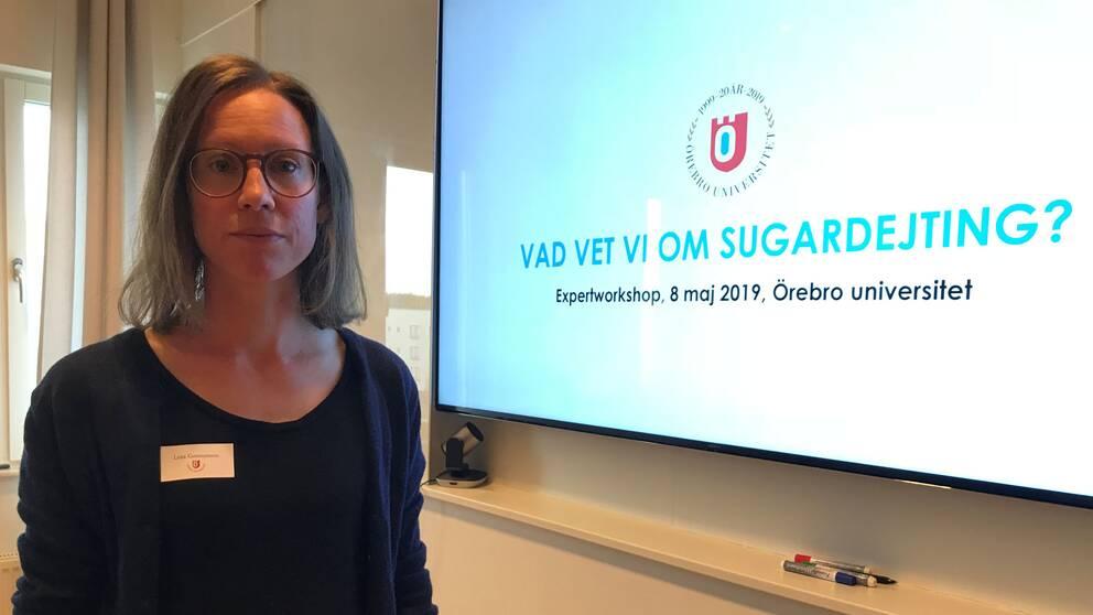 Lena Gunnarsson, forskare i genusvetenskap vid Örebro universitet,