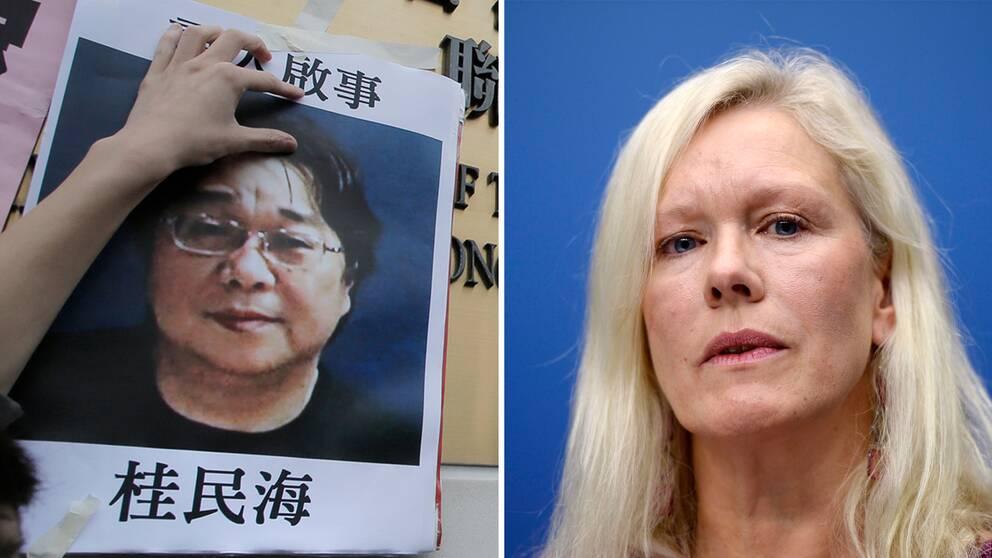 Tidigare Kina-ambassadören, Anna Lindstedt, utreds för agerande i fallet mot Gui Minhai