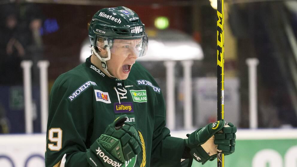 Senast Victor Ejdsell spelade i Färjestad var 2016.