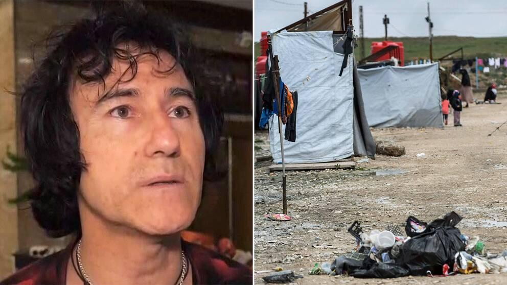 Patricio Galvez och Al-Hol lägret