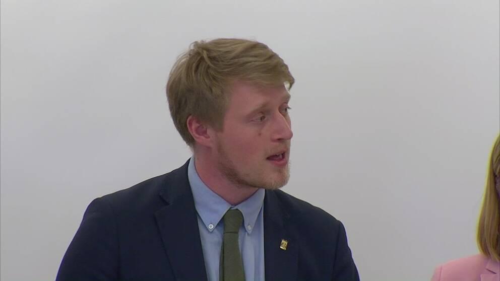 Magnus EK (C), förbundsordförande för CUF,