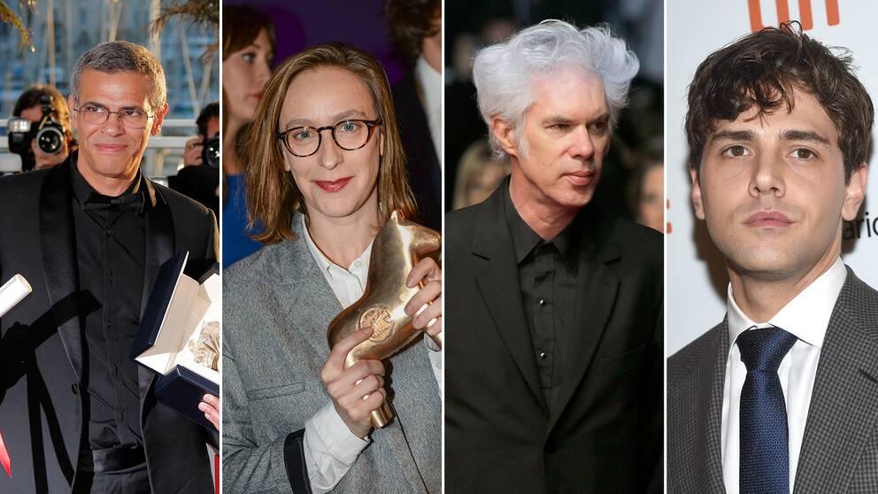 De som har chans att vinna Guldpalmen är: Abdellatif Kechiche, CélineSciamma, Jim Jarmusch och XavierDolan.