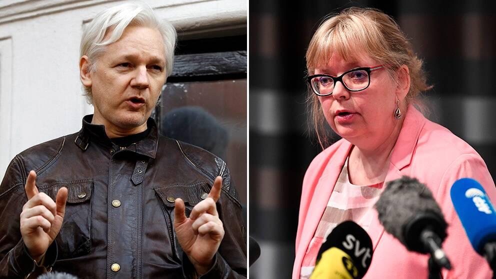 Utredning mot Assange återupptas