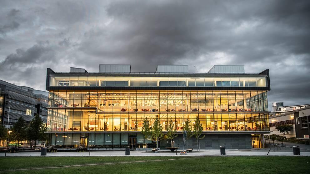 Södertörns högskola i Stockholm.