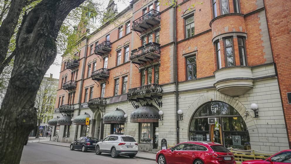 Gevalia-palatset i centrala Gävle.