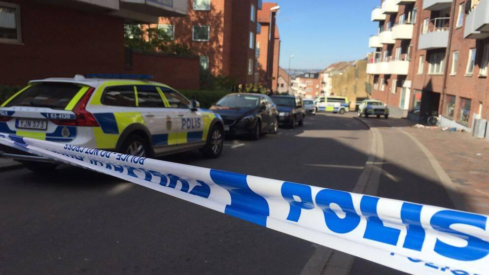 – Vi pratar inte om hatbrott just nu, utan bara om försök till mord, säger polisområdeschef Sven Holgersson.