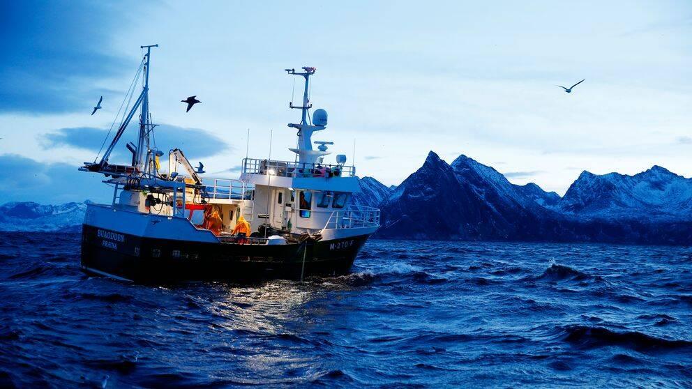 Torskfiske utanför Norge 2015.