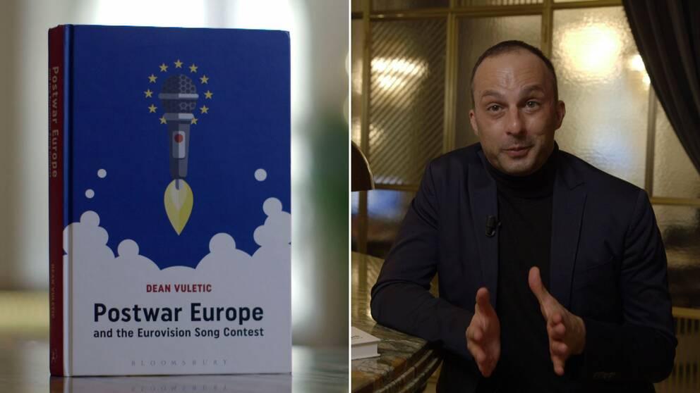 Dean Vuletic har skrivit boken Postwar Europe and the Eurovision song contest.
