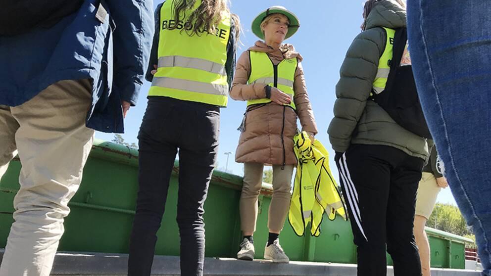 Splitter nya Sortergårdssafari i Jönköping ska utbilda 600 elever | SVT Nyheter CR-63