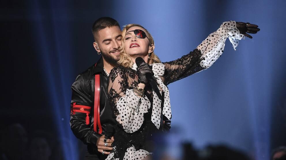 Det är oklart om Madonna kommer att uppträda under Eurovision-finalen på lördag.