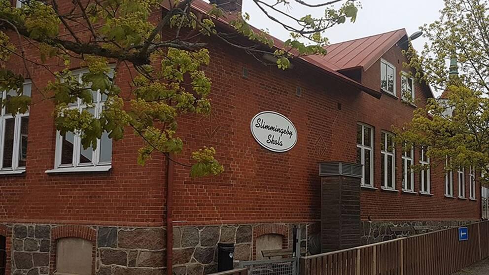 Slimmingeby skola öppnar som vanligt till hösten.