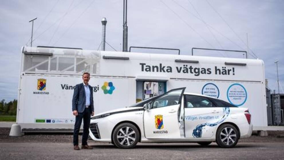 Jonas Johansson, utvecklingschef Mariestads kommun.