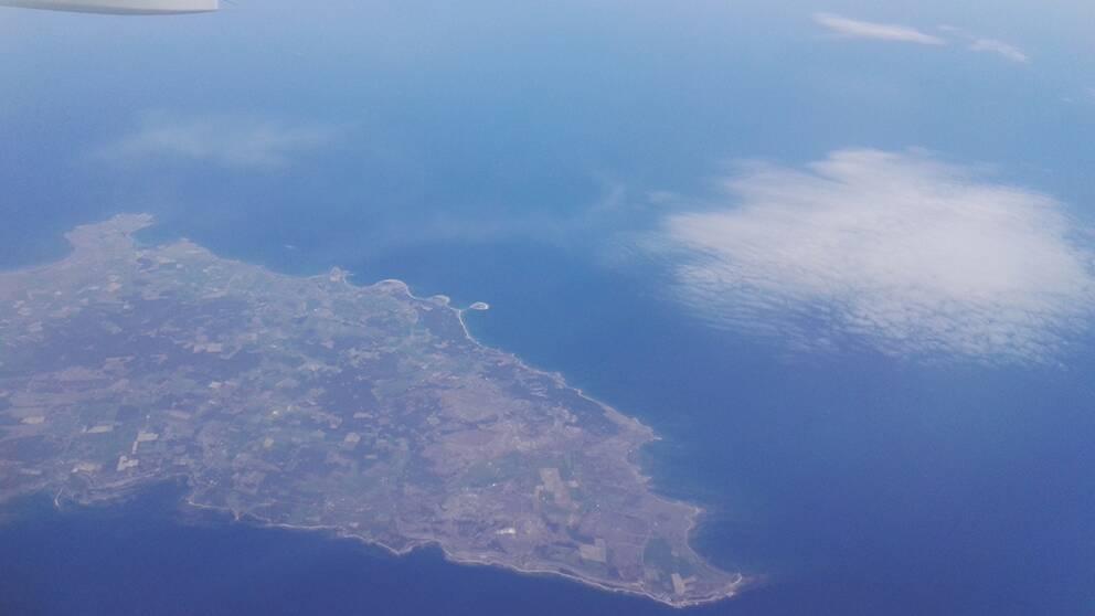 Solsken över södra Gotland den 15 maj.