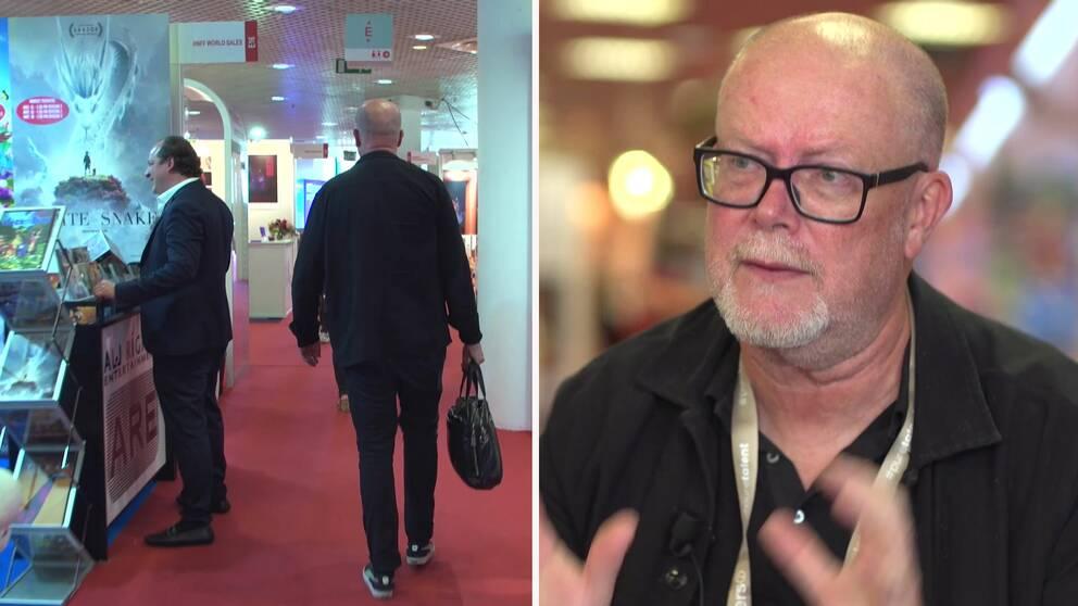 Mattias Nohrborg, producent på B-ReelochinköpschefförTriart, är på plats vid Marchédu film i Cannes.