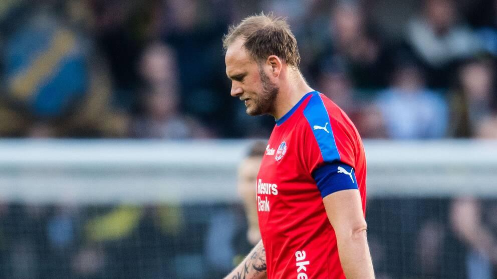 Andreas Granqvist fick kliva av matchen mot AIK.