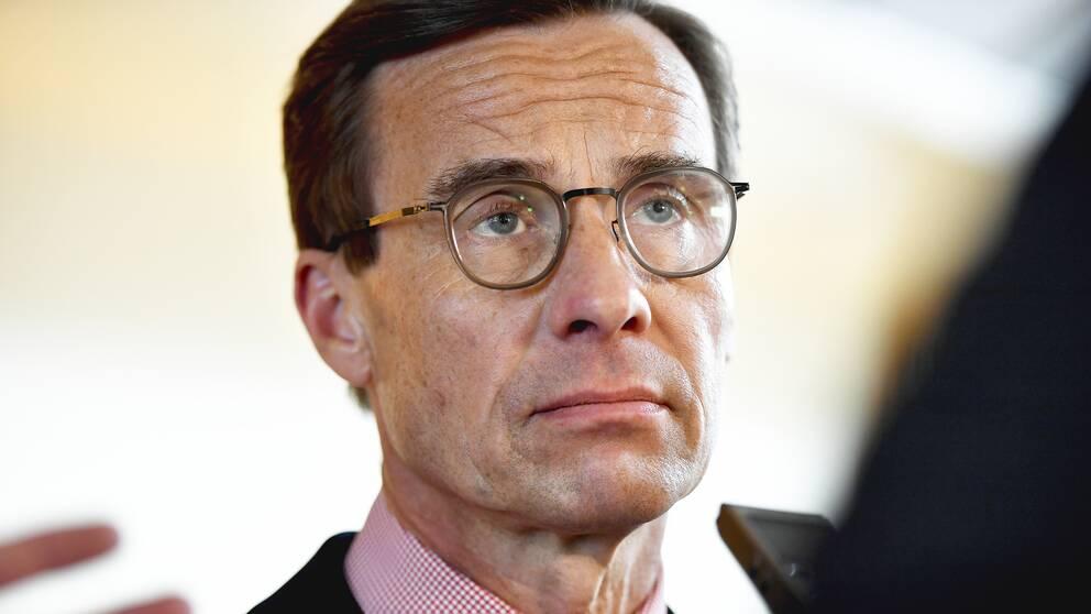 Moderaternas partiledare Ulf Kristersson.