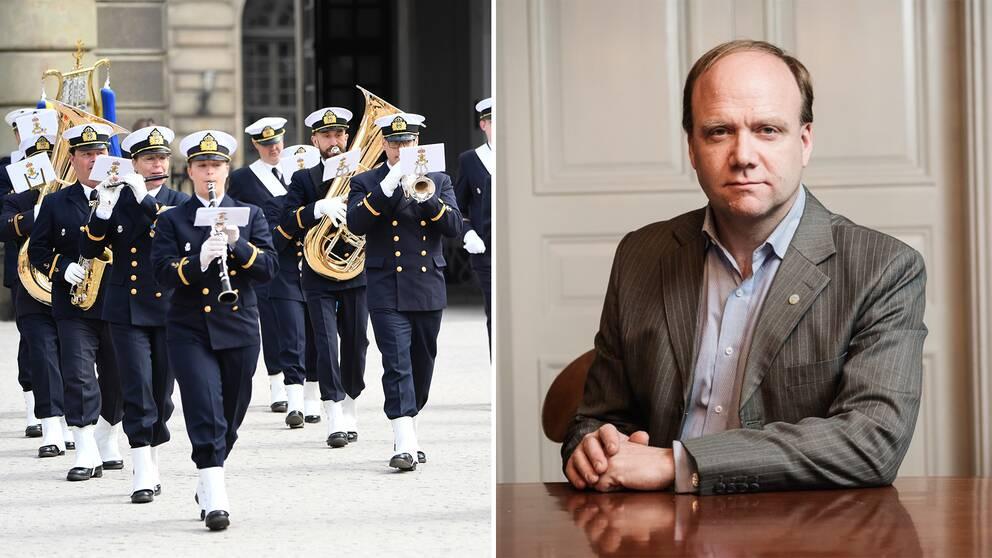 Fredrik Wetterqvist vill lyfta blåsmusiken och på lördag firas Blåsmusikens dag för allra första gången i Sverige.
