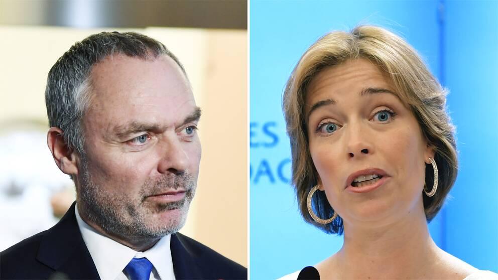 Jan Björklund och Annika Strandhäll.