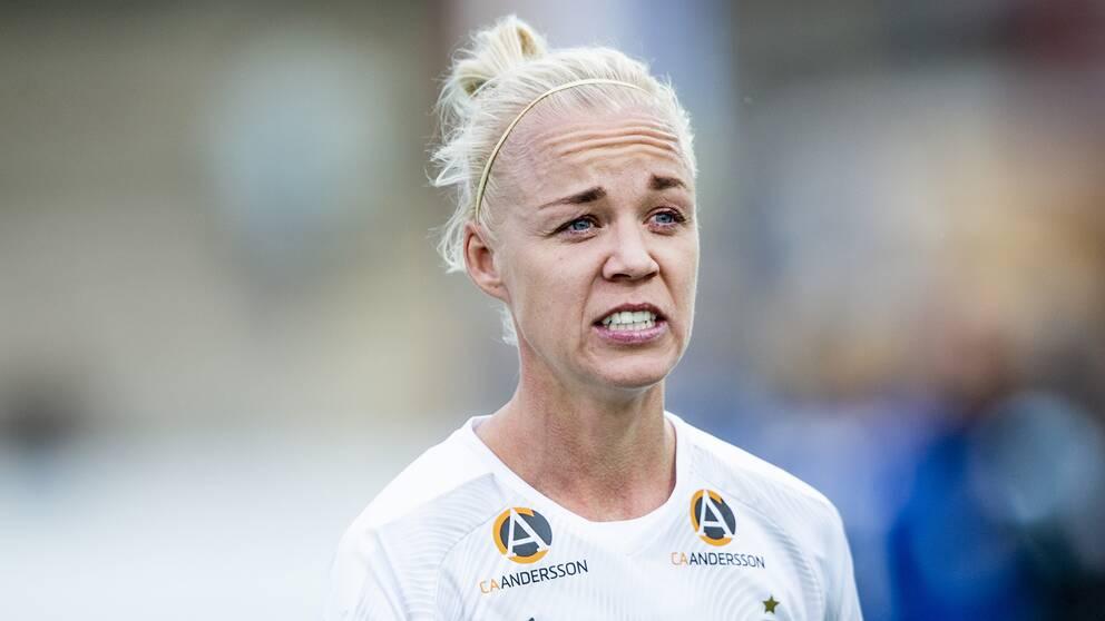Caroline Segers Rosengård kompenseras ekonomiskt under VM i Frankrike.