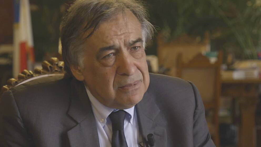 Palermos borgmästare Leoluca Orlando