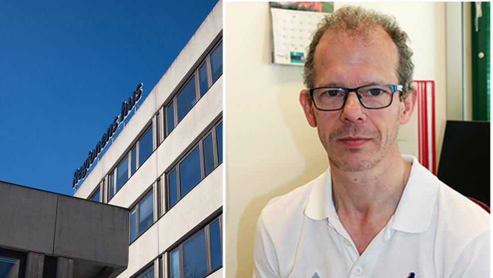Porträtt på Christian Arns, sektionsöverläkare på Region Västernorrland.