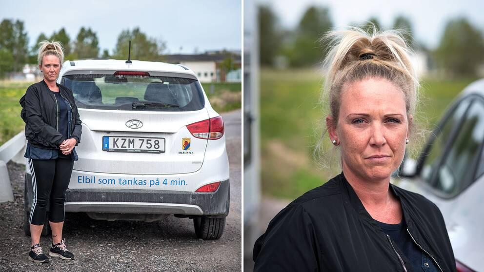 Sandra Snejder, hemtjänsten Mariestad